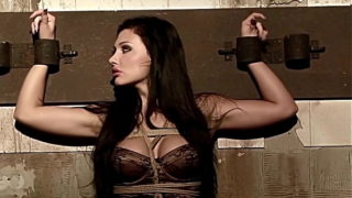 When seductive sex bomb, Aletta Ocean is tied up, and begging for dick. Part 1.The woman, who never knowed, what's submission means.